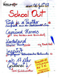 School Out '07@ -
