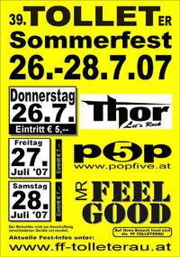 39. Tolleter Sommerfest 26.-28.7.07@Park beim Schloss