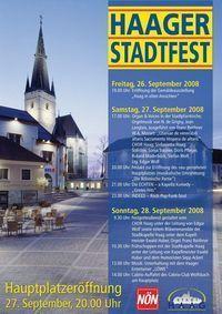 ! Stadtfest Haag !