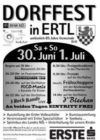 Dorffest@Dorfplatz Ertl