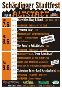 Schärdinger Stadtfest@Bühne Altstadt