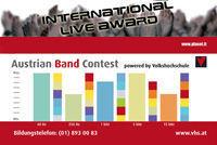 International Live Award@((szene)) Wien