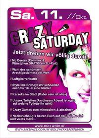 Crazy Saturday @ Bollwerk@Bollwerk