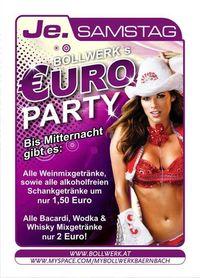 Bollwerks Euro Party@Bollwerk