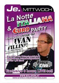 La Notte Italiana & Euro Party@Bollwerk