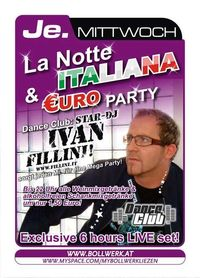 La Notte Italiana & Euro Party@Bollwerk