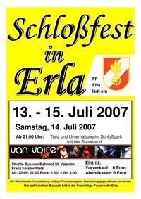 Schloßfest in Erla@Schloßpark in Erla