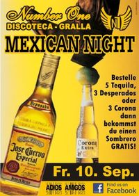 Mexican Night@Discoteca N1