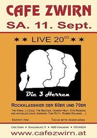 Die 3 Herren - Rockklassiker im Cafe Zwirn@Cafe Zwirn