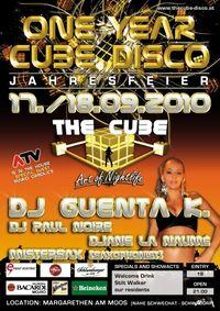 One Year Cube Disco