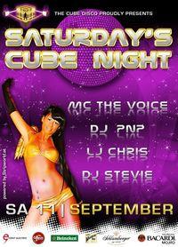 Saturday Cube Night@The Cube Disco
