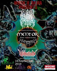 Mosh O Rama - Black&Death Metal Night@[kwadra:t]