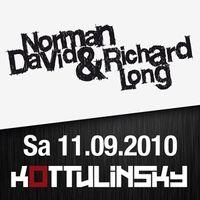 Norman David & Richard Long@Kottulinsky Bar