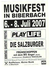 Musikfest in Biberbach@Lagerhausplatz