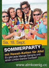 Sommerparty@Almkönig