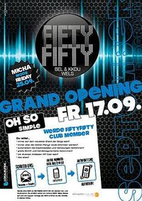 Grand Opening@Fifty Fifty