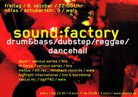 soundfactory = drumandbass / dubstep / reggae / dancehall@Nöfas