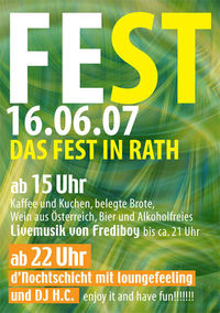 Fest in Rath 2007@GISI´S Special Hof