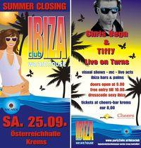 Ibiza Summer Closing