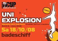 Uni Explosion@Badeschiff