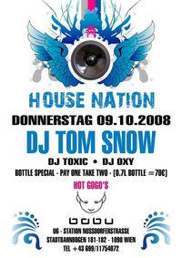 House Nation - Dj Tom Snow@Club Babu - the club with style