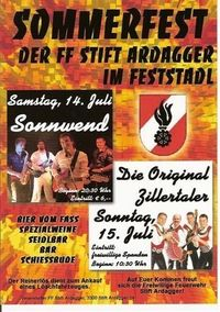 Sommerfest der FF Stift Ardagger@Feststadl