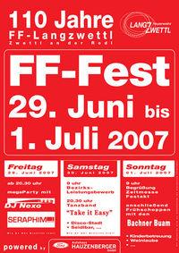 110 Jahre FF-Langzwettl@Zeltfest / Discostadl