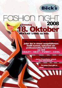 fashion night@Becks Bar