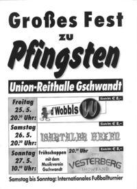 Großes Fest zu Pfingsten@Reithalle