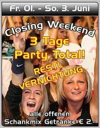 Closing Weekend@Spessart