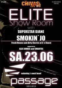 ELITE Show Room  – Superstar SMOKIN`JO@Babenberger Passage