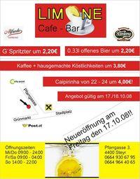 Limone Neueröffnung@Cafe/Bar Limone