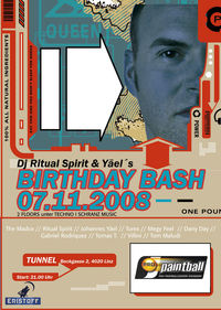 Birthday Bash DJ Ritual Spirit@Club Tunnel