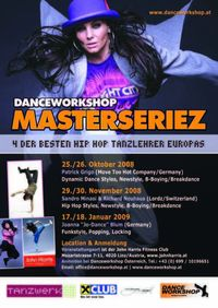 Danceworkshop Masterseriez@John Harris Fitness