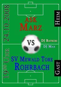 Fußball Derby + After-Match-Party@Sportplatz