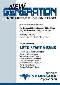 New Generation!@Gasthof Stöffelbauer