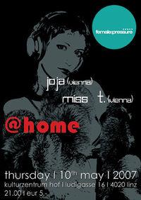 MISS T. & JOJA @home@Kulturzentrum HOF