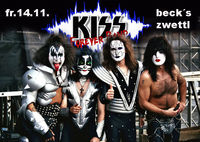 kiss forever band@Becks Bar