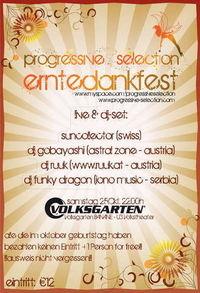 Progressive Selection - Erntedankfest@Volksgarten Banane