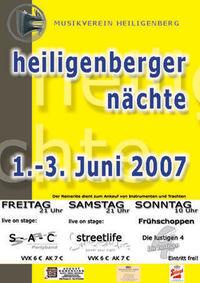 Heiligenberger Nächte 2007@Zelt