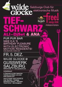 Wilde Glocke - Tiefschwarz
