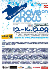 Rave on Snow Festival@Saalbach