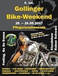 9. Int. Gollinger Bike-Weekend@Biker-Festzelt
