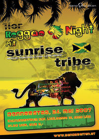 sunrise tribe -Live im HOF@Kulturzentrum HOF