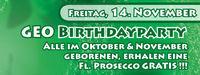 Geo Birthdayparty