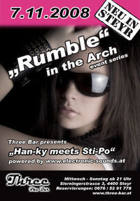 Rumble in the Arch @Three - The Bar