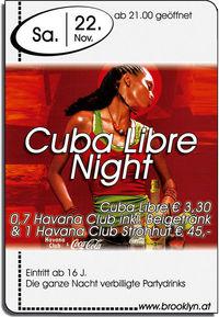 Cuba Libre Night@Brooklyn