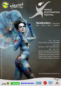 World Bodypainting Festival 2007@Klauberpark