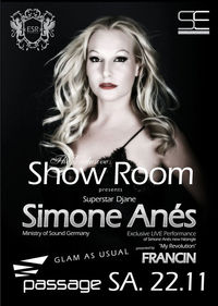 The Exclusive Show Room - Superstar Simone Anes@Babenberger Passage