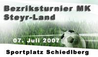 Bezirksfußballturnier MK Steyr Land@Sportplatz Schiedlberg